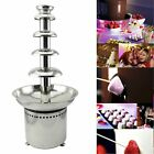 Tek Motion 27' 5-Tier Stainless Steel Chocolate Fondue Fountain LARGE for Big