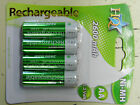 4 Battery Accumulator Ni-MH Rechargeable HQ LR06 AA 2600 mAh
