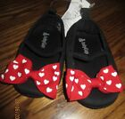 NWT Baby Gap Disney Minnie Mouse Red Heart Bow Crib Shoes 12 18 OR 18 24 NEW