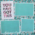 YOU HAVE GOT THIS Basic Premade Scrapbook Page 12x12 Layout for Album 3032