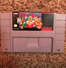 Super Nintendo SNES Super Punch Out Super Punch Out Video Game Authentic Tested