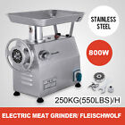 250KG/H Commercial Meat Grinder Stainless Steel l Maker Electric Speed HOT