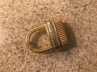 Montblanc Two-Tone Belt Buckle  / Made in Italy /   Excellent Condition