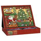 Lang Patchwork Christmas by Susan Winget Jigsaw Puzzle (500-Piece)