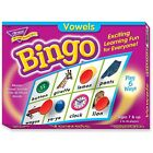 Trend Enterprises Vowels Bingo Game, 3-36 Players, 36 Playing Cards/Mats 6066