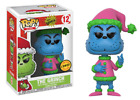 PreOr Funko Pop The Grinch Stole Christmas Santa Blue Colors Limited Chase Vinyl