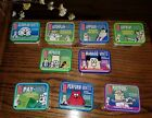Lot of 9 Different Collectible Dilbert Tins some w comic inserts or Printed on