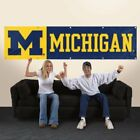 Party Animal Michigan Wolverines 8x2 NCAA College Banner