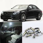 Error Free White 21Pcs Light LED Interior Kit For Merceds Benz E W212 2009+ #E