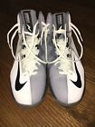 Nike Air Max Stutter Step 2 White Black Stealth Cool Grey Size 8