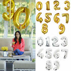 40 Large Foil 0 9 Number Party Decoration Baloons Wedding Anniversary Gifts