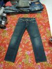 VINTAGE DSQUARED2 JEANS SELVEDGE ITALY D2 W31 IN29 577