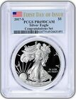 2017 S 1 American Silver Eagle Congratulations Set PCGS PR69DCAM First Day BL