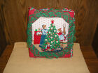Lace Covered Christmas Photo Album 3-Ring Binder * Vintage