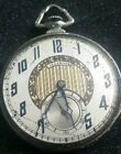 Illinois Abe Lincoln 12s 21j Pocket Watch