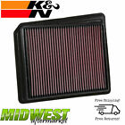 K&N Replacement Panel Air Filter For 2017-2018 Nissan Titan 5.6L V8