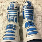 Custom hand painted boots Star Wars R2D2