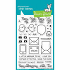 Lawn Fawn Clear Acrylic Stamps Love Letters lf1292 2017