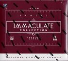 2016 Panini Immaculate Collection Football sealed hobby box 6 cards 5 hits