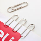 80 Box Metal Silver Jumbo Paper Clips Gentley FOR Office Stationary Crafts hot