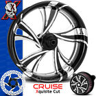 Xtreme Machine Cruise Xquisite Contrast Cut Wheel Harley Touring Baggers 21 PM