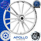Rotation Apollo Chrome Wheel Yamaha Roadstar V-Star Roadliner Stratoliner 21