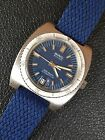 BWC All Steel Vintage Mens Diver Watch 37mm Automatic ETA 2783