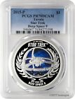 2015 P 1 Tuvalu Star Trek Deep Space 9 999 Silver Proof Coin PCGS PR70DCAM