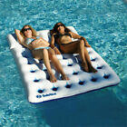Swimline Solstice Aquawindowduo 2 Person Swimming Pool Mattress Lounger Float