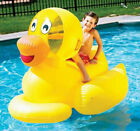Swimline Giant Inflatable Ducky Duck Swimming Pool Kids Toy Float 9062