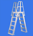 Vinylworks Slide Lock A Frame Ladder For Aboveground Swimming Pool Sla W