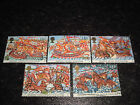 1988 GB COMMEMORATIVE STAMPS 400th Anniversary of Spanish Armada Set of 5 Used