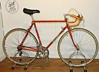 Vintage 1977 Mens Orange Francesco Moser Reynolds 531 Road Racing Bike
