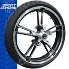Sport Chrome Reinforcer Custom Wheel Harley Touring 21 Tire Package