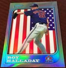 1997 Bowman Chrome INTERNATIONAL REFRACTOR ROY HALLADAY Rookie RC NM or Better