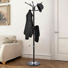 Metal Coat Hat Jacket Stand Tree Umbrella Holder Hanger Rack Marble Base 67