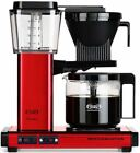 Moccamaster KBG741 Automatic Drip-Stop 40oz Coffee Maker - Red Metallic, Glass C