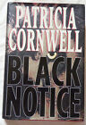 Black Notice by Patricia Cornwell Signed