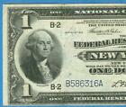 $1.00 1918 FR.711 NEW YORK  FEDERAL RESERVE BANKNOTE VF  LARGE EAGLE REVERSE