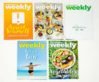 LOT OF 5 WEIGHT WATCHERS WEEKLY GUIDES JULY  AUGUST 2017 WITH RECIPES