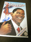 Amazing Spider Man 583 Obama Inaguration Day Stan Lee Certificate M N M