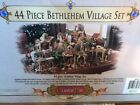 GRANDEUR NOEL 43 PIECE BETHLEHEM VILLAGE COLLECTOR EDITION NATIVITY 2002