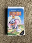 Dumbo Disney Black Diamond Classic Rare VHS Original Animated Classics 1998