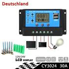 30A Solar Panel PWM Charge Battery Controller Regulator 12V 24V+ 10pcs Screws MT