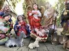 Christmas Nativity Set Scene Figures Polyresin Figurines Baby Jesus 13 PIECE SET