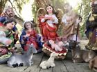 5 Inch Christmas Nativity Set Scene Figures Figurines Baby Jesus 13 PIECE SET