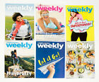 LOT OF 6 WEIGHT WATCHERS WEEKLY GUIDES MAY JUNE 2017 WITH RECIPES