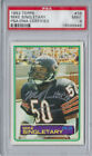 1983 Topps Mike Singletary Rookie Autograph MINT 9 PSA DNA Auto Signed RC Bears