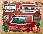 New Classic Christmas Train Set 23 Piece With Real Smoke Sounds