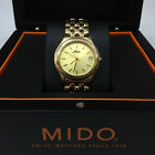 MIDO Men's Gold Tone Stainless Steal SWISS Quarts Metal WATCH M2960.3.12.1.Z